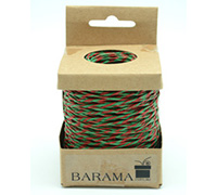 2mm T TONE PAPER STRING-Red/Green