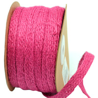 10mm JUTE TAPE-Hot Pink