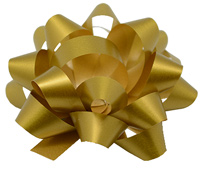 10mm SATIN TEAR BOW(6.5)-Gold