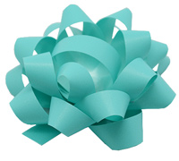 10mm SATIN TEAR BOW(6.5)-Tiffany