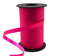 10mm SATIN TEAR RIBBON-Hot Pink