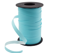 10mm SATIN TEAR RIBBON-Pale Blue