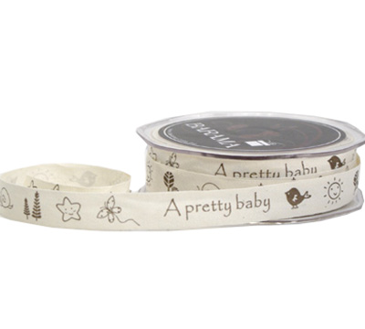 15mm C/TAPE PRETTY BABY-Natural Tape