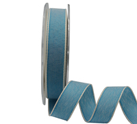 15mm PASTAL SHADES TAPE-Aqua/White