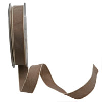 15mm PASTAL SHADES TAPE-Chocolate/White