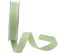 15mm PASTAL SHADES TAPE-Pale Green/White