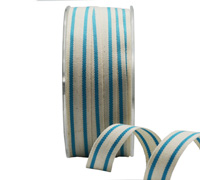 15mm SUMMER CANVAS STRIPE-Blue