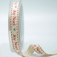 R16mm JOY NOEL NORDIC XMAS-Natural/Red/Silver