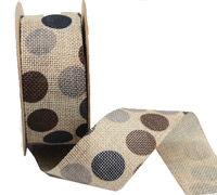 38mm CE POLKA DOTS ON-Beige