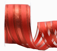 38mm W/E METALLIC BANDS -Red/Scarlet