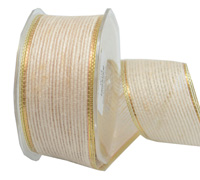 38mm W/E JUTE with MET-Cream/Gold