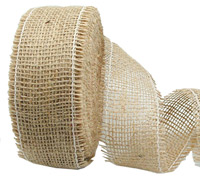 55mm C/E JUTE WEBBING Single Weft-Natural