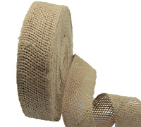 50mm DOUBLE WELT JUTE WEBB-Natural