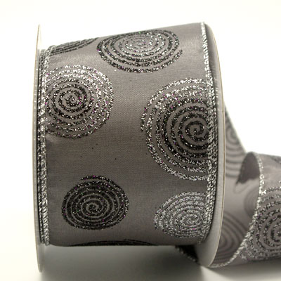 63mm W/E CIRCLES O'GLITTER-Grey/Silver/Black