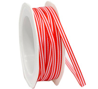 6mm CANVAS STRIPE-Red