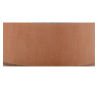 CUT EDGE ORGANZA-Peach