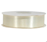 25mm CUT EDGE SATIN-Cream