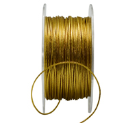 1mm METALLIC CORD-Gold