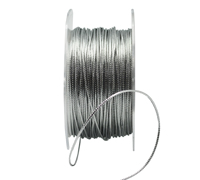 1mm METALLIC CORD-Silver