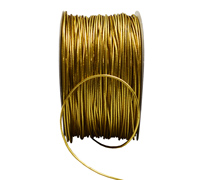 1mm MET STRETCH CORD-Gold
