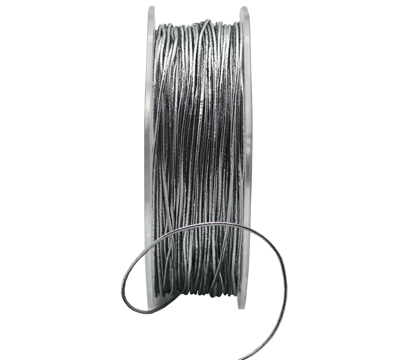 1mm MET STRETCH CORD-Silver