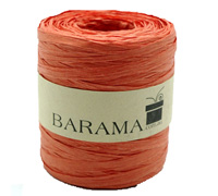 4mm PAPER RAFFIA-Orange
