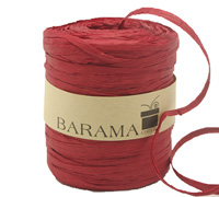 4mm PAPER RAFFIA-Red