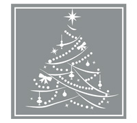 SQUARE XMAS TREE SEAL-Silver