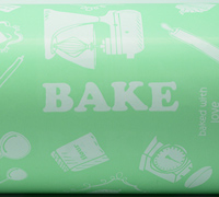 BAKING WRAP- Mint