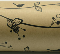 BOTANICAL WRAP-Natural Black