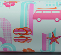 COMBI  WRAP-Tangerine HPI Pink Tiffany