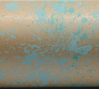 COLOUR SPLASH WRAP- Tiffany Blue On Kraft