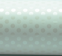 LOTS OF DOTS WRAP- White Pearl