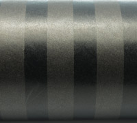 50cm SOLID STRIPE WRAP-Black/Gun On Kraft