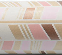 TRIBAL WRAP-White Pale Pink Coral